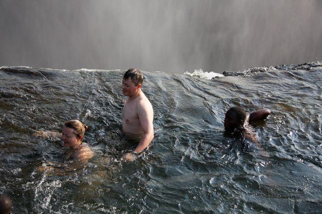 Livingstone Island Tour, Livingstone, Zambia