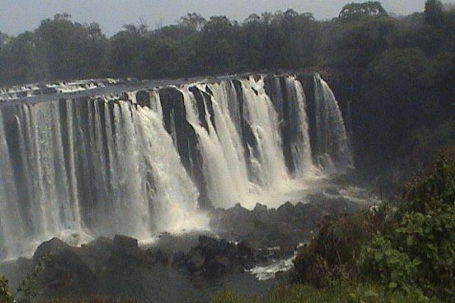 Lumangwe Falls, Lomashi, Zambia
