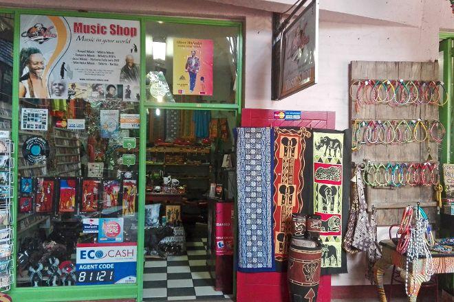 Cultural Vibes Music Shop, Victoria Falls, Zimbabwe